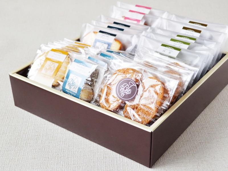 焼き菓子詰め合わせB 2,500円(税別)