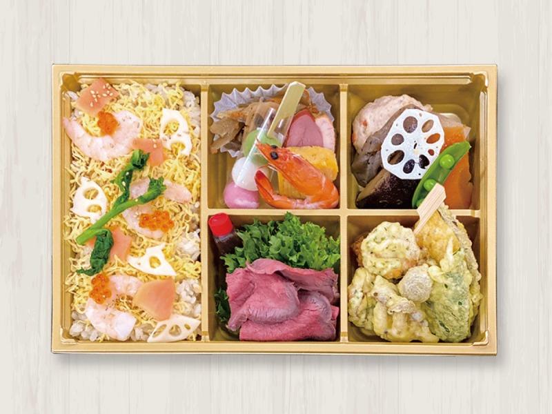 [55キッチン]ちらし寿司弁当