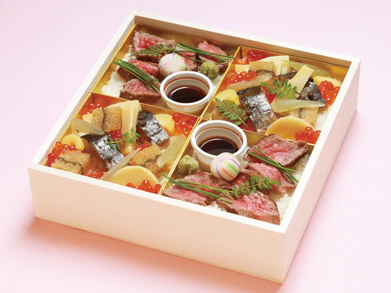 [丹念]八戸毬姫牛のちらし寿司