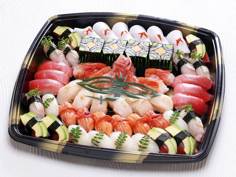 【新メニュー】[仕出し懐石こんごう]特上祝い寿司