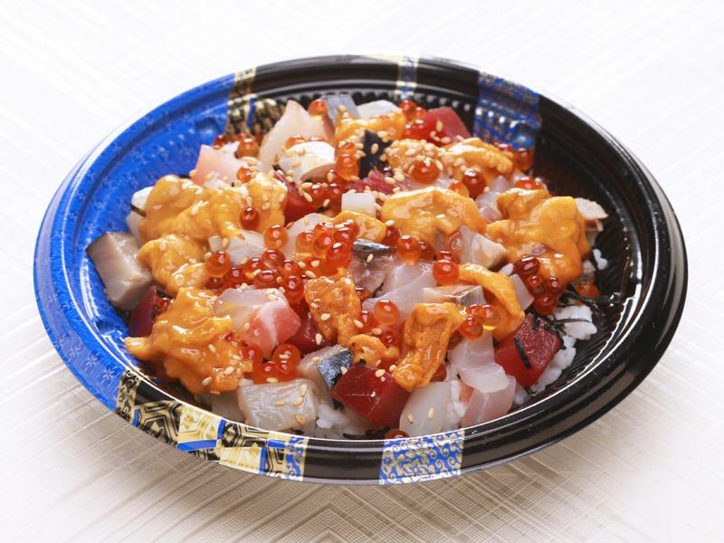 [きんき]海鮮ばくだん丼 3段