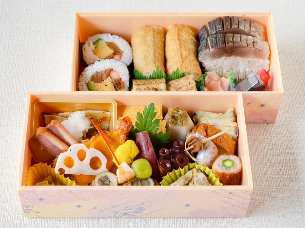 [きんき]鮨と肴のお花見二段重【販売期間:5月9日まで】
