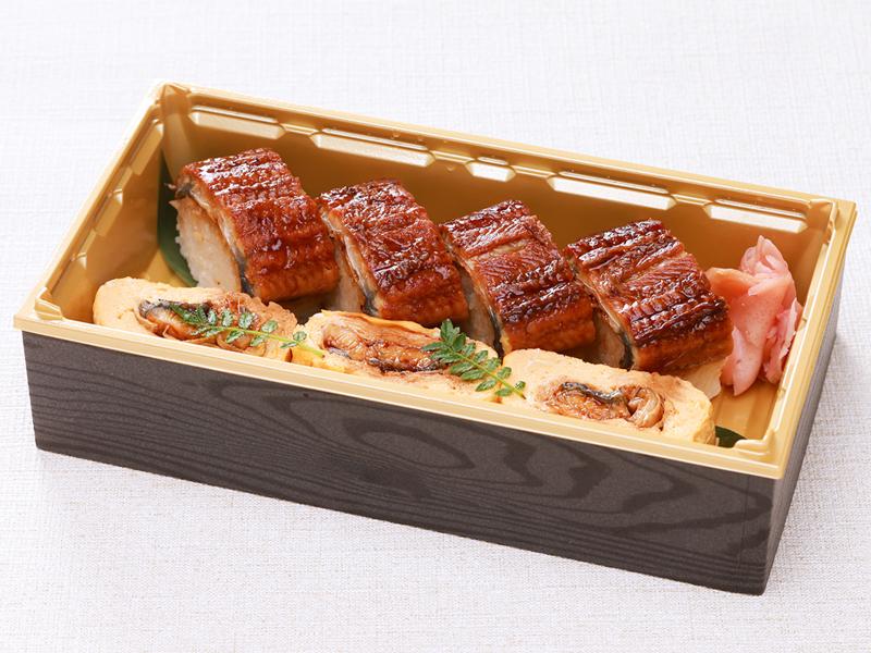 [割烹金剛]うなぎ棒寿司とう巻き弁当【ご提供期間:2021年8月31日まで】